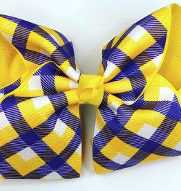 Howelette Hairbows LSU Gingham Bows