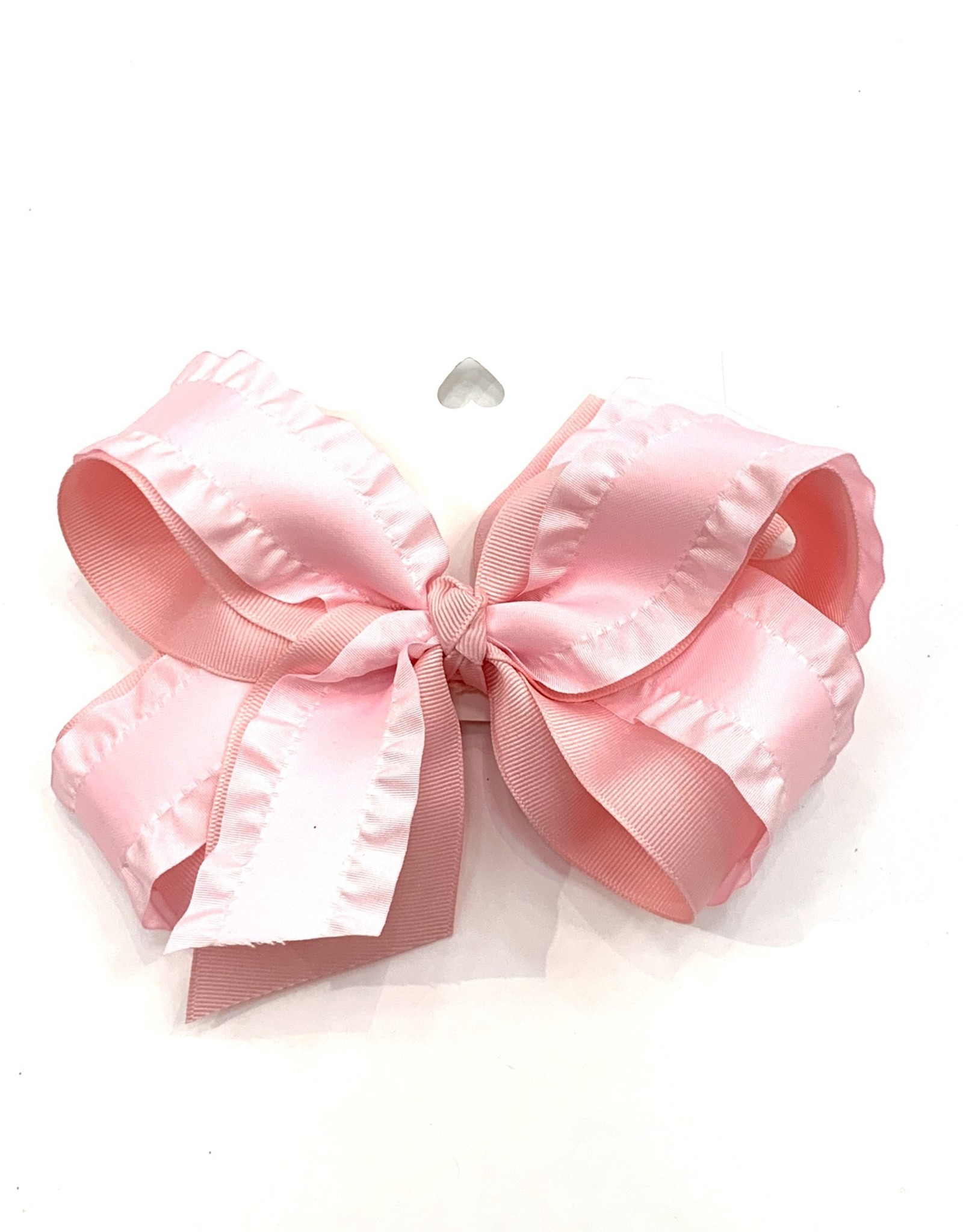 High Cotton Bows Medium Ruffle Double Layer Bow
