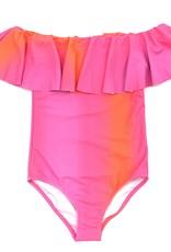 Stella Cove Neon Ombre Swimsuit
