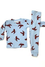 Thingamajiggies 4 Kids Two Piece Crawfish Pajama Set