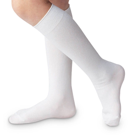 Jefferies Socks White Nylon Knee High 1603