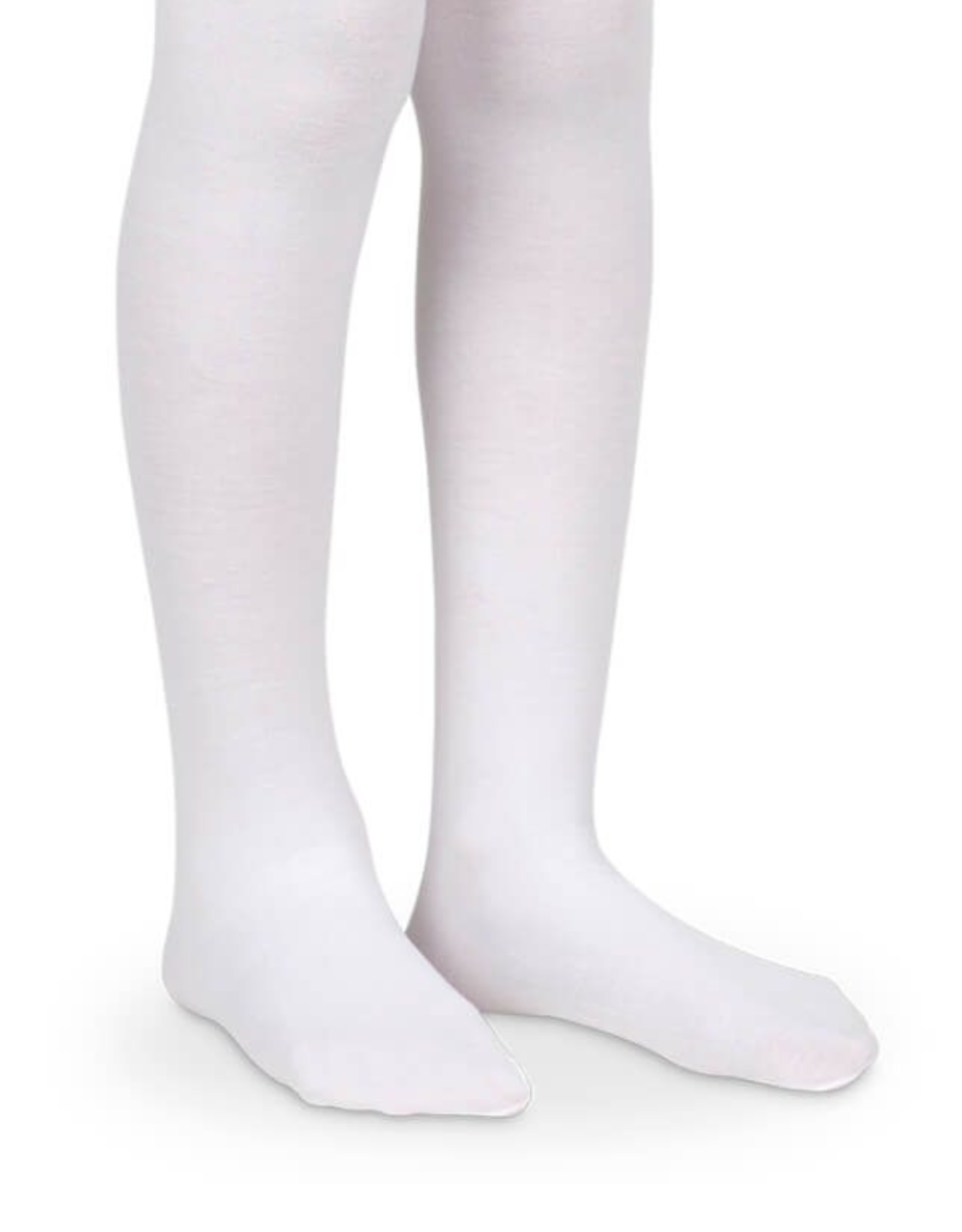 Jefferies Socks White Nylon Tights 1445