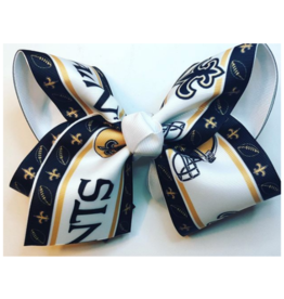 Howelette Hairbows Saints Bow