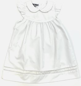 Sweet Dreams White Hemstitch Dress