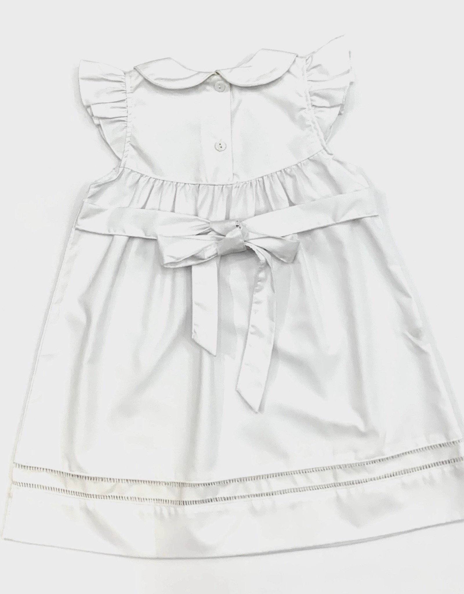 Sweet Dreams White hemstitch dress