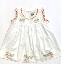Christian Elizabeth White Cartegena Blossom Dress