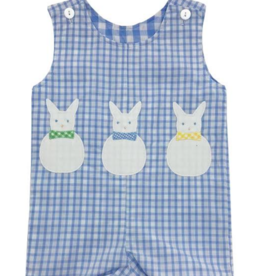 Funtasia Too Reversible Shortall, Bunnies Blue