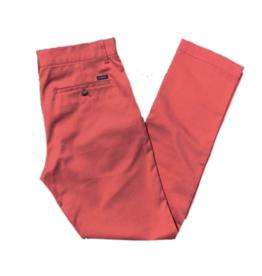 Brown Bowen Palmetto Pants Rev Red