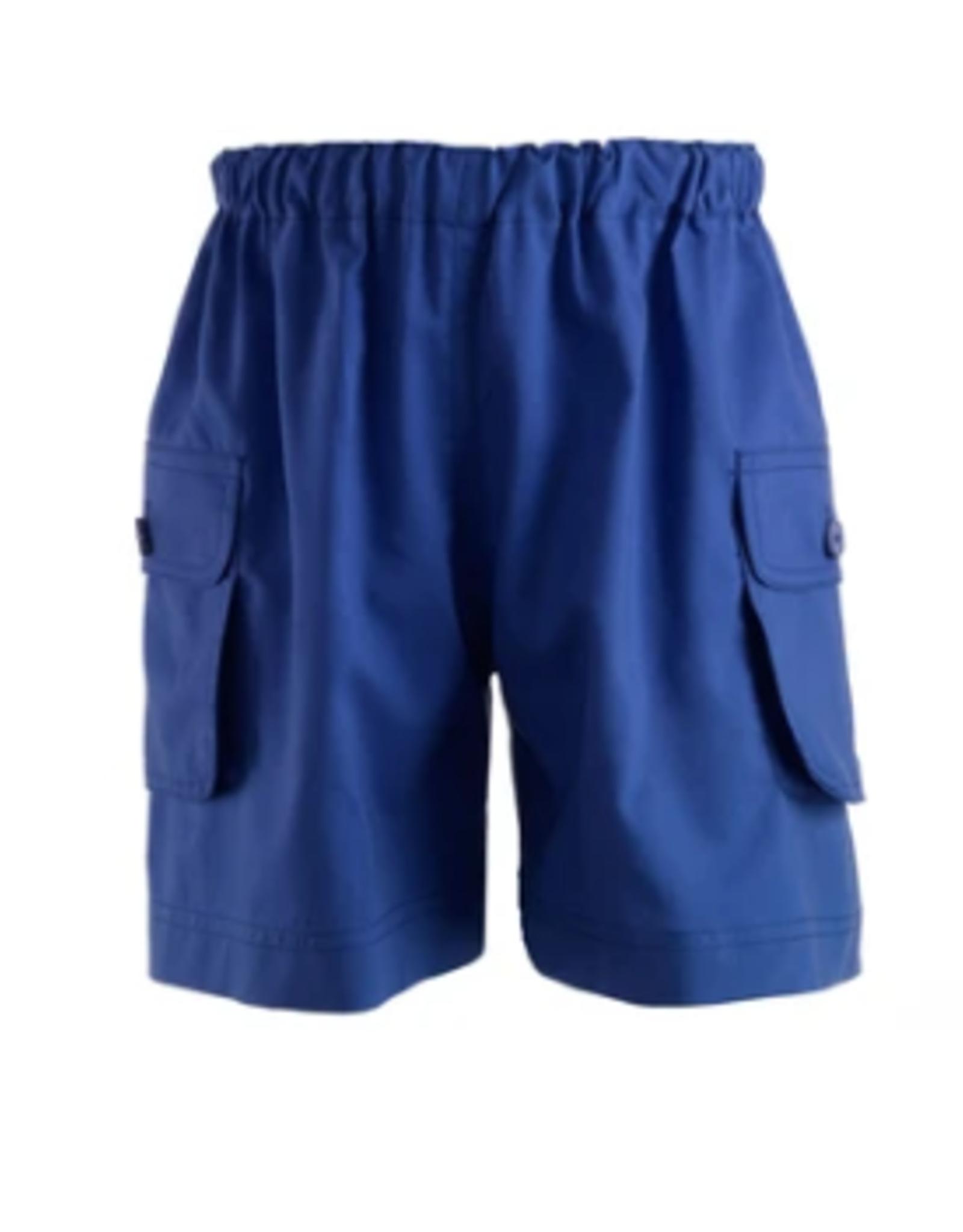 Rachel Riley French Blue Pocket Shorts