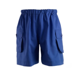 Rachel Riley French Blue Pocket Shorts
