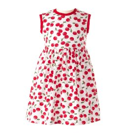 Rachel Riley Cherry Jersey Dress