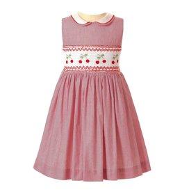 Rachel Riley Cherry Smocked Dress