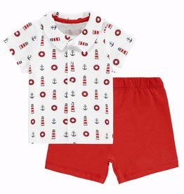 Rachel Riley Nautical Shirt And Short Set