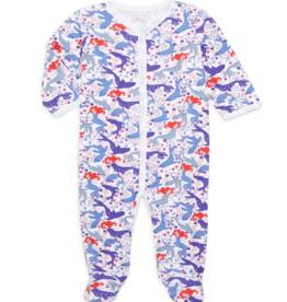 Roller Rabbit Selkie Footie Pajamas