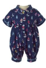 Rachel Riley Sailboat Babysuit