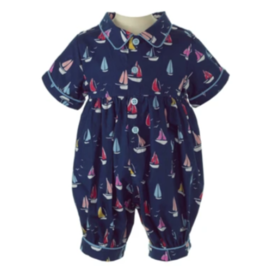Rachel Riley Sailboat Babysuit