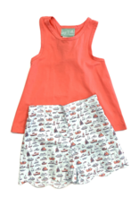 Sage and Lilly Rock The Boat Knot Back Tank Set