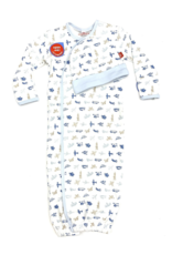 Magnetic Me Airplanes Organic Cotton Magnetic Gown Set