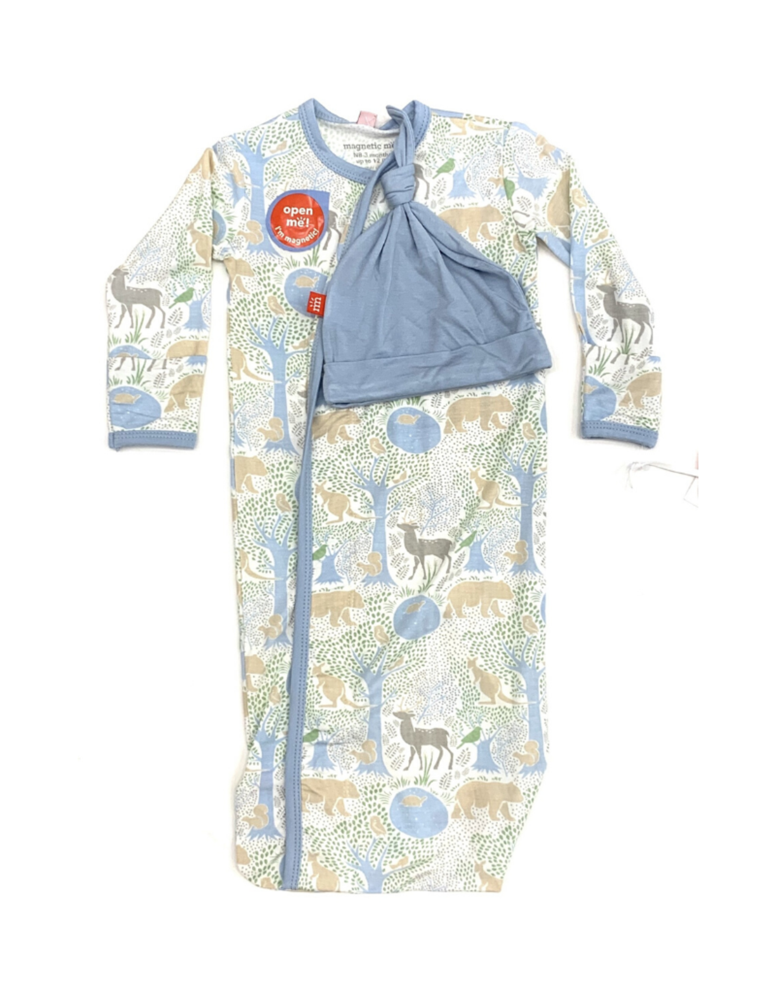 Magnetic Me Acadia Modal Magnetic Sack Gown Set