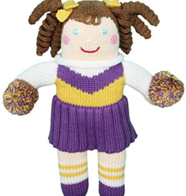 Zubels 7' Cheerleader Doll With Rattle