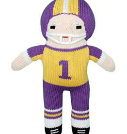 Zubels 7' Football Player With Rattle