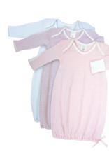 Paty Lap Shoulder Gown Solid Lavender