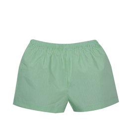 LullabySet Stewart Green Striped Shorts