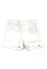 Peggy Green Penelope Shorts - White Canvas