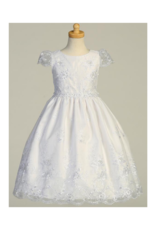 Lito Embroidered Organza With Sequins - T-Length