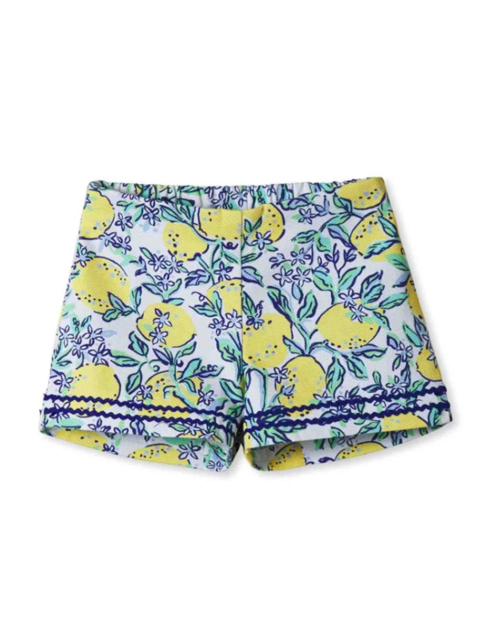 Classic prep Harper Lemon Shorts