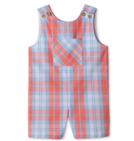 Classic prep James Coral And Blue Shortall