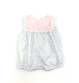 Anvy Kids White Emma Bubble With Multi Colored Dots