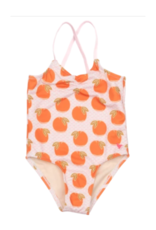 Pink Chicken Pink Belle Swimsuit With Oranges