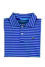 The Bailey Boys Blue/Royal Short Sleeve Performance Polo