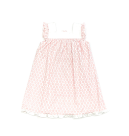 Lila and Hayes Caroline Pink Palms Dress