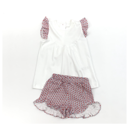 Lila and Hayes Ella Firecracker Top And Short Set