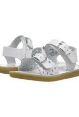 Footmates White Ariel Sandal
