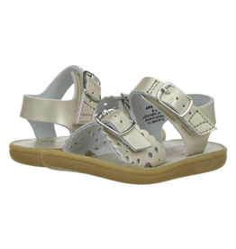 Footmates Ariel Soft Gold Sandal