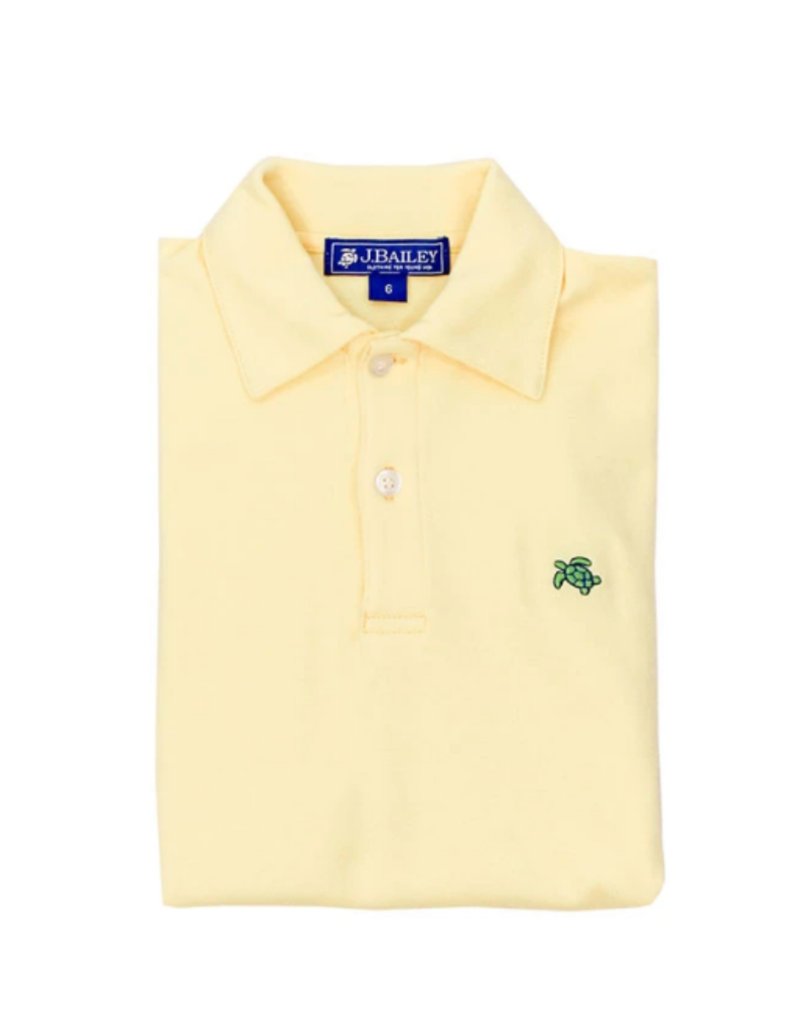 The Bailey Boys Yellow Short Sleeve Polo