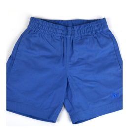 SouthBound Regatta Blue Elastic Waistband Shorts