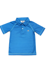 SouthBound Blue And Regatta Striped Polo