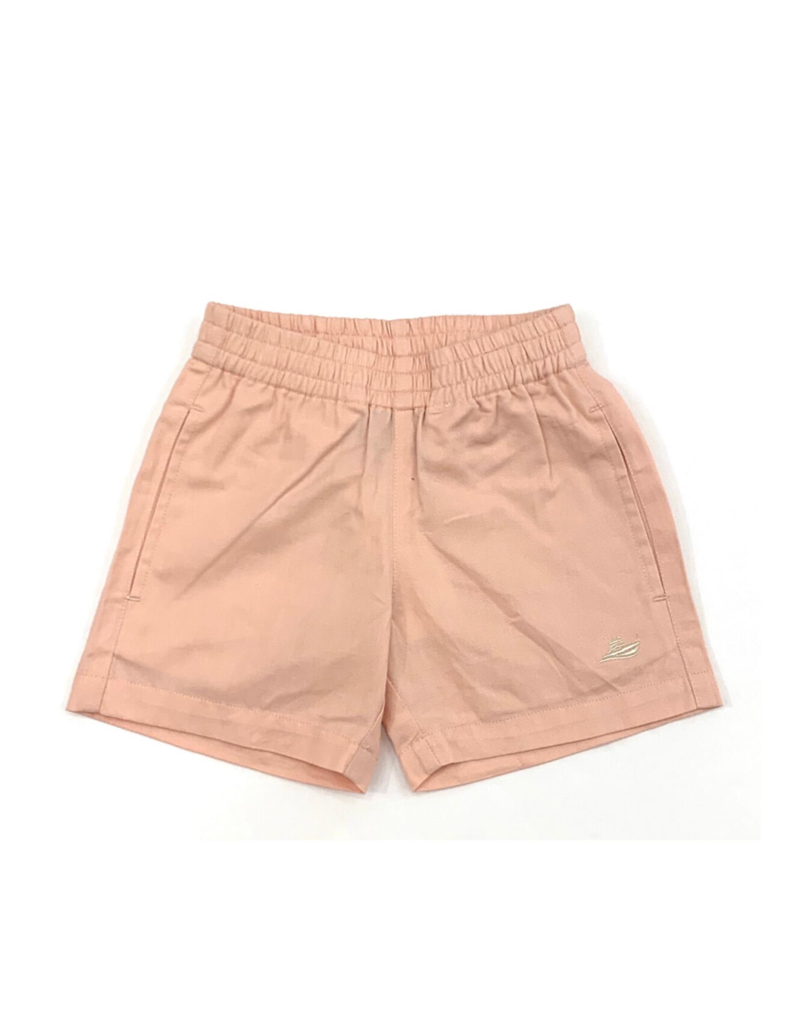 SouthBound Pink Elastic Waistband Shorts