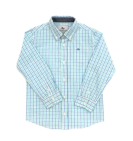 SouthBound Regatta Island Plaid Long Sleeve Shirt