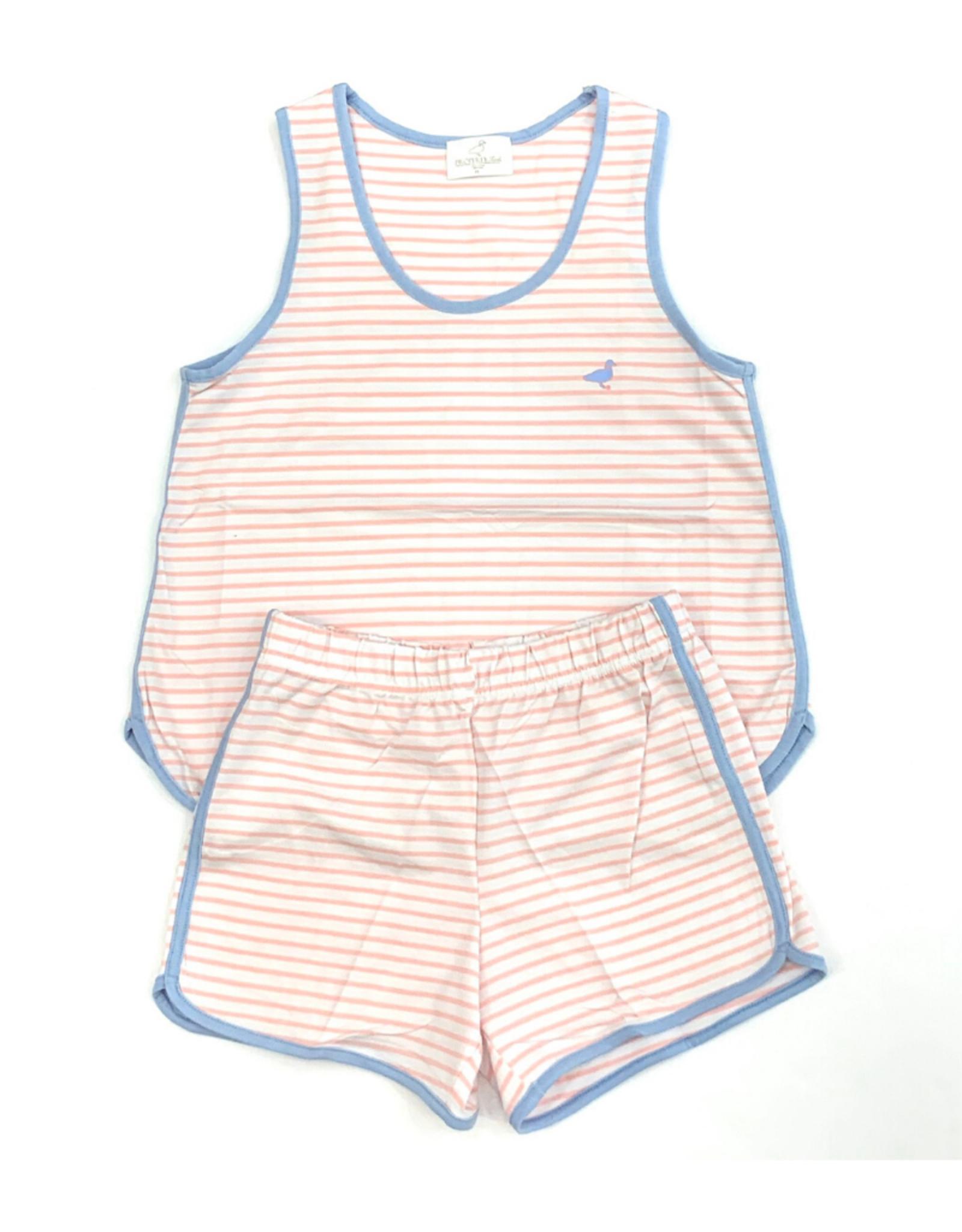 Properly Tied Light Pink Stripe Set