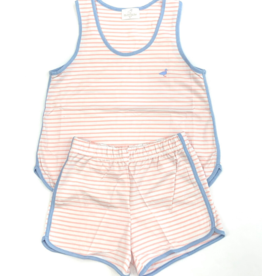 Properly Tied Light Pink Stripe Set