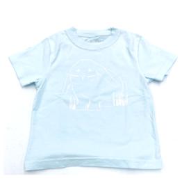 Mustard & ketchup Light Blue Bunny T-Shirt