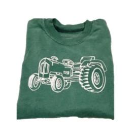 Mustard & ketchup Green Tractor T-Shirt