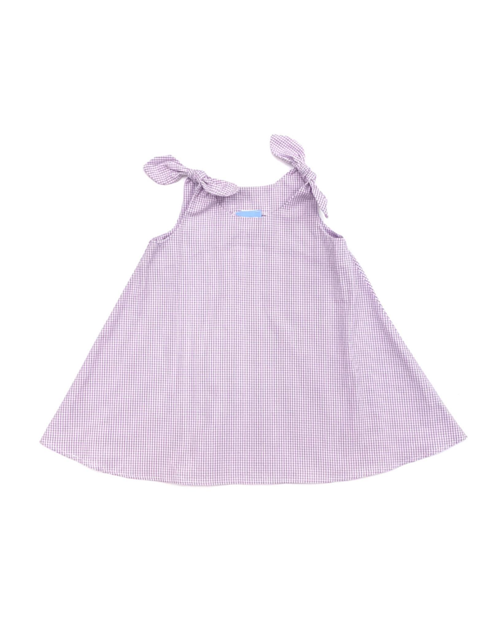 Funtasia Too Lavender Swing Dress Tie Shoulder