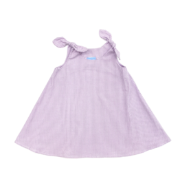 Funtasia Too Lavender Swing Dress Tie Shoulder