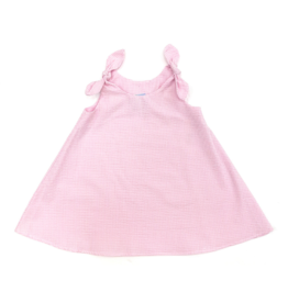 Funtasia Too Pink Swing Dress Tie Shoulder